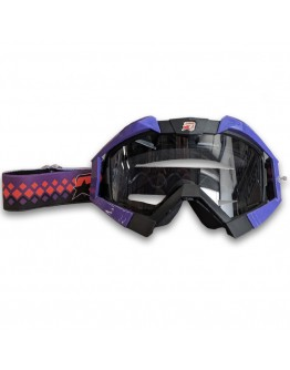 Ariete Μάσκα MX Riding Crows Black/Purple
