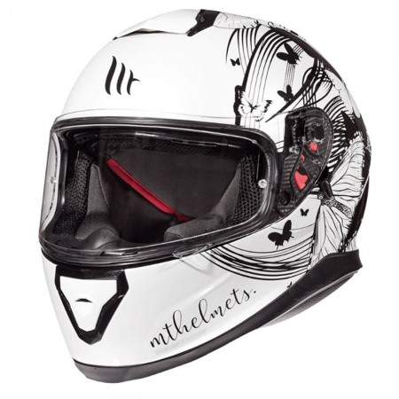 MT Thunder 3 SV Vlinder White/Black
