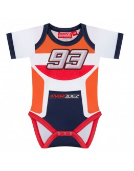 Marc Marquez Baby Body Replica Racing Suit Φορμάκι