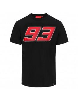 Marc Marquez 93 Fluo T-Shirt Black