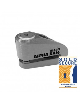 Oxford Κλειδαριά Δίσκου Alpha XA14 Alarm Stainless