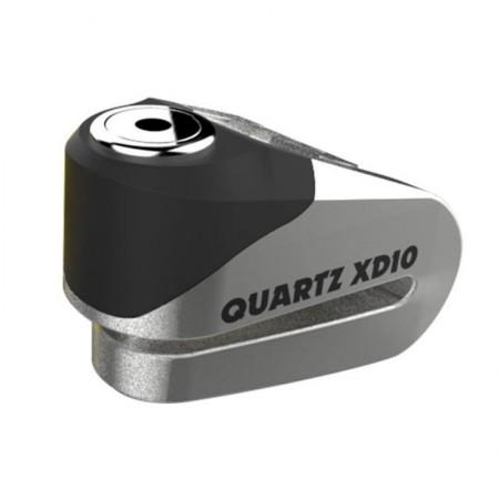 Oxford Κλειδαριά Δίσκου XD10 Silver/Black