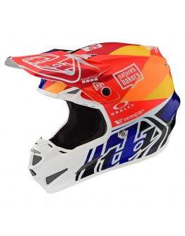 TLD SE4 Composite Jet Orange/Navy