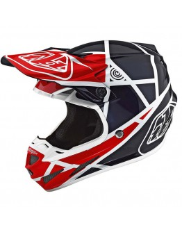 TLD SE4 Composite Metric Red/Navy