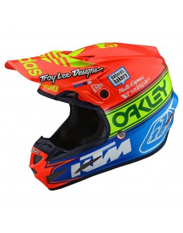 TLD SE4 Composite Team Edition 2 Orange/Blue