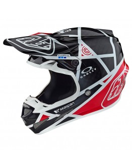 TLD SE4 Carbon Metric Black/Red