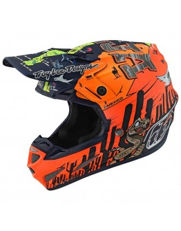 TLD SE4 Composite Baja Matt Orange