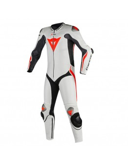 Dainese Mugello R D-Air Suit Black/White/Fluo-Red