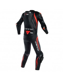 Dainese Mugello R D-Air Suit Black/Black/Fluo-Red
