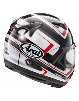 Arai QV Charged White