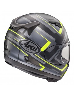 Arai QV Charged Yellow