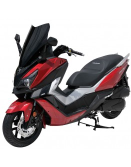 Ermax Ζελατίνα Sport Sym Cruisym 125i/300i 18-19 Light Smoke