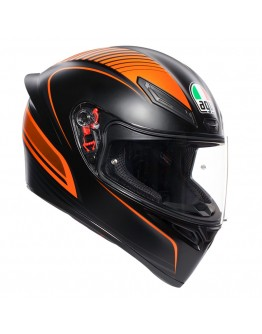 AGV K1 Warmup Matt Black/Orange