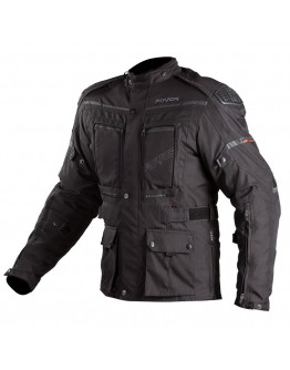 Fovos Explorer Knox Jacket Black