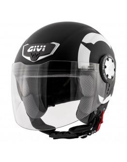 Givi H10.4F Stark Matt Black-White