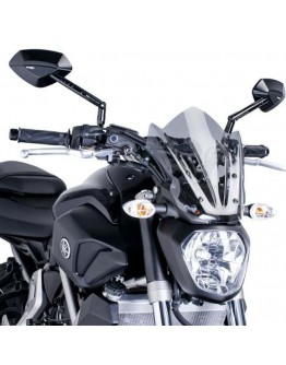 Puig Ζελατίνα Naked Sport Yamaha MT-07 14-17 Smoke