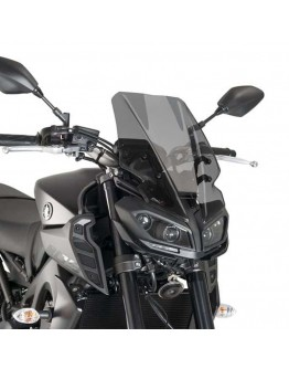 Puig Ζελατίνα Naked Touring Yamaha MT-09 17-18 Dark Smoke