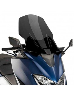 Puig Ζελατίνα V-Tech Touring Yamaha T-Max 530 17-18 Dark Smoke
