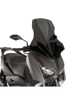 Puig Ζελατίνα V-Tech Touring Yamaha X-Max 300 17 Dark Smoke