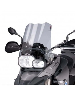 Puig Ζελατίνα Touring BMW F 650 GS 08-18 Smoke