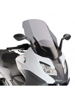 Puig Ζελατίνα V-Tech Touring BMW C 650 Sport 16-17 Smoke