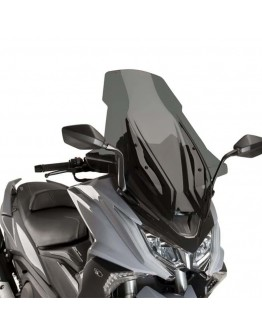 Puig Ζελατίνα V-Tech Touring Kymco AK 550 17-18 Dark Smoke