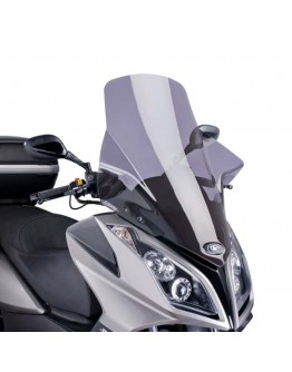 Puig Ζελατίνα V-Tech Touring Kymco Superdink 125i 10-17 Smoke