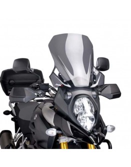 Puig Ζελατίνα Touring Suzuki DL 1000 V-Strom 14-16 Dark Smoke