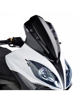Puig Ζελατίνα V-Tech Sport Kymco R 300i-500i 09-14 Light Smoke