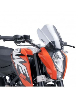 Puig Ζελατίνα Naked Sport KTM Duke 125 11-16 Smoke