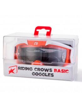 Ariete Μάσκα MX Riding Crows Basic White/Orange