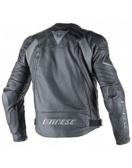 Dainese Avro D1 Leather Jacket Black/Antracite