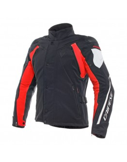 Dainese Rain Master D-Dry Jacket Black/Glacier-Gray/Red