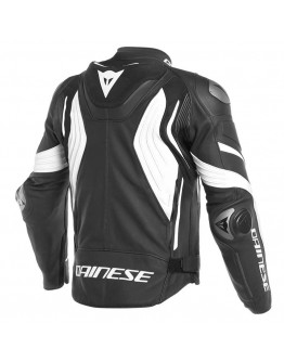Dainese Super Speed 3 Leather Jacket Black/White