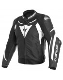 Dainese Super Speed 3 Leather Jacket Black/White