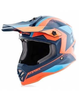 Acerbis Impact Steel Junior Orange/Blue