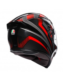 AGV K5 S Hurricane 2.0 Black/Red