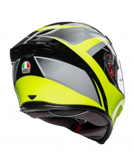 AGV K5 S Typhoon Black/Grey/Yellow Fluo