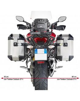Givi Βάσεις Πλαϊνών Βαλιτσών Ducati Multistrada 1200 15-18