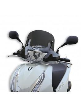 Malossi Ζελατίνα Sport Honda SH 125-150 13-16 Dark Smoke
