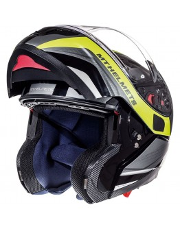 MT Optimus SV Tarmac Black Matt/Fluo Yellow