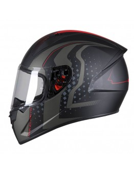 MT Stinger Warhead Nightwatchman Matt Black/Red
