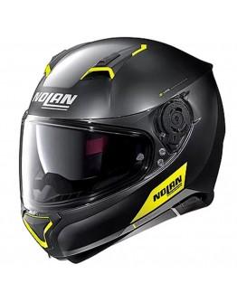 Nolan N87 Emblema N-Com 72 Flat Black