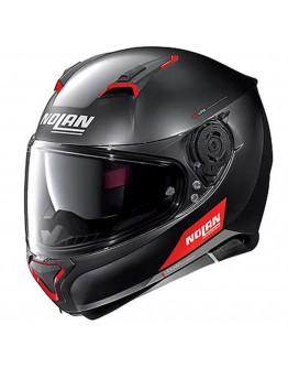 Nolan N87 Emblema N-Com 73 Flat Black