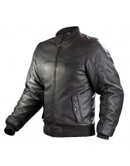 Nordcode Bullet Leather Jacket Black