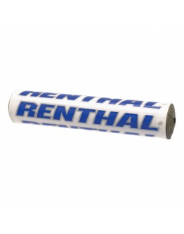 Renthal SX Pad Τιμονιού 240mm White/Blue