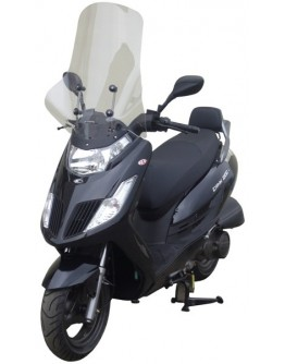 Fabbri Ζελατίνα Kymco Dink 50/125i/200i 06-11 Exclusive Clear