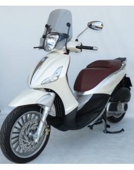 Fabbri Ζελατίνα Piaggio Beverly 125/300/350 10-18 Summer Ligh Smoke
