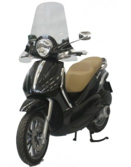 Fabbri Ζελατίνα Piaggio Beverly Tourer 125/250/400 08/10 Exclusive Clear