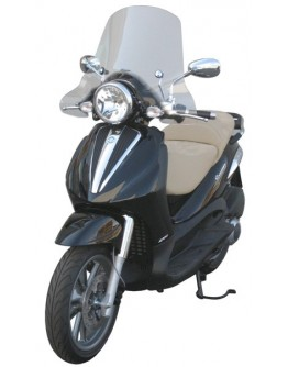 Fabbri Ζελατίνα Piaggio Beverly Cruiser 250/500 06-09/Carnaby Cruiser 300 09 Exclusive Clear